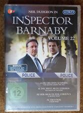 NEU!!! OVP - Inspector Barnaby - Vol. 22 -  4 DVD's
