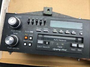 1986 Cadillac Eldorado Used Bose Cassette Radio with built in Equalizer