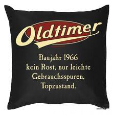 Geschenk zum Geburtstag - Oldtimer Baujahr 1966 - Kissen Bezug Sofakissen 40x40