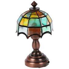 Heidi Ott LED Tiffany Table Lamp, Dolls House Miniature, Lighting