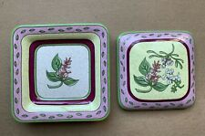 Small Displaying Porcelain Square Dish With Lid PartyLite
