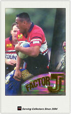 1996 NZ NPC Cards Superstar Of Union Factor J1-Jonah Lomu