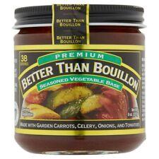 Better Than Bouillon Seasoned Vegetable Base 8 oz Jar