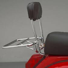 VESPA PX 125 T5  FOLD DOWN  REAR CARRIER CHROME ITALIAN MADE QUALITY