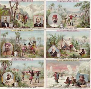 Liebig Cards. [Famous explorers.]