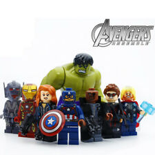 Super Heroes LEGO Minifigures Marvel Avengers Infinity War Set Minifigures 8pcs