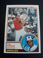 1983 Topps Set Break #163 Cal Ripken Jr. NM-MT Baltimore Orioles HOF'ER