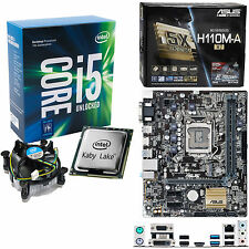INTEL Core i5 7600K 3.8Ghz (4.2Ghz), ASUS H110M-A/M.2 NO RAM
