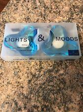 VILLEROY & BOCH 2 LOTS TEA LIGHT GLASS VOTIVE CANDLE HOLDERS, GLASS BLUE, NIB