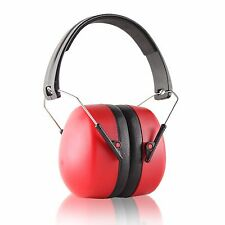 Titus R3 Red 37NRR Earmuff Hearing Protection Personal Safety Shooting Gear