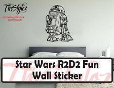 Star Wars R2D2 Kids Fun Wall Vinyl Sticker