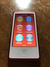 New ListingApple iPod nano A1446 7th Generation Red Special Edition (Mkn72Ll) 16gb