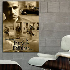 Poster Mural Movie Godfather Mob Gangster 40x56 inch (100x142 cm) Adhesive Vinyl