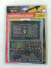 Sharp YO-170 Personal Information Organizer Calculator NEW sealed