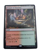 Mtg---Magic the gathering--Land--Temple of Abandon-- Rare - - TOP ZUSTAND--