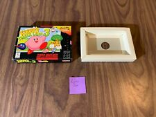 Kirby's Dream Land 3 (Super Nintendo, SNES) -- Authentic Box Only --
