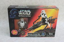 New in the Box Sealed Star Wars Imperial Speeder Bike + Biker Scout Stormtrooper