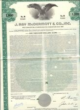 USA 1973 J.RAY McDERMOTT & CO., INC. (amerikanische Energieversorger), attraktiv