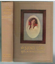 Story Girl by L. M. Montgomery 1911 1st Stated Ed. Rare Antique Book! $