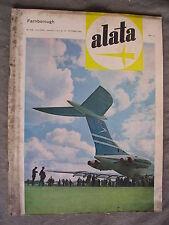ALATA # 208 - RIVISTA AERONAUTICA - OTTOBRE 1962 - BUONO