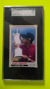 Tiger Woods 2001 Sports Illustrated For Kids US Open 2000 SGC 92 NM/MT+ 8.5 SIFK