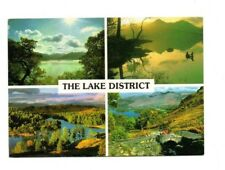 Cumbria - The Lake District - Multiview Postcard Franked 1993