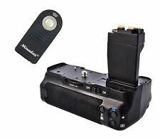 MEIKE Batteriegriff f. Canon 550D 600D 650D 700D ersetzt BG-E8 + IR Fernauslöser
