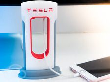 TESLA Supercharger Phone Charger | iPhone Android Accessories | MacBook, Model S