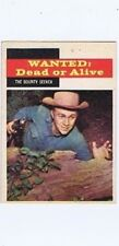 Topps 1958 Western TV Card #23 Wanted Dead or Alive, Steve McQueen