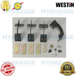 Westin For 97-04 Ford F-150,F-250 Oval Step Bars Mounting Brackets 22-1045