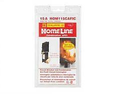 SQUARE D HOMELINE HOM115CAFIC 15A ARC FAULT COMBINATION CIRCUIT BREAKER NEW