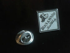 PIN'S PINS Scotch whisky black and & white chienPIN