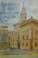 ALMANACCO DEI BIBLIOTECARI ITALIANI 1969