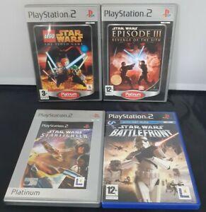 Playstation 2 Star Wars 4 Game Bundle