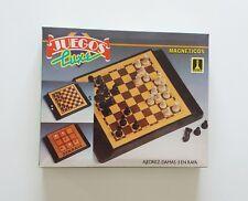 Juegos Magnéticos Luxe Ajedrez - Damas - 3 en Raya (Rima) ¡¡Incompleto!!