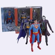 NECA DC Comics Superman Batman Joker PVC Action Figure Collectible Model Toy#