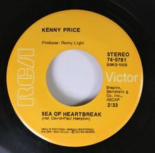 Country 45 Kenny Price - Sea Of Heartbreak / Smiley On Rca