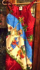 RIMA FAB M SEXY Dress sun Christmas Cruise Holiday New Hawaiian Caribbean