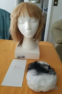 Wigsbuy HH#27- LARGE 12inch Human Hair wig Strawberry Blonde