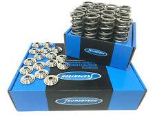 Supertech Dual Valve Springs Retainers Honda H22 H22A H22A1 H22A4 Prelude 80LB