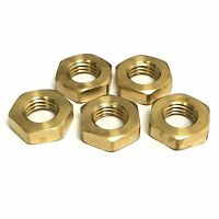 8-32 UNC Brass Full Nuts - GWR Fasteners - British Manufactured Nuts - No.8 UNC