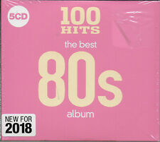 100 Hits The Best 80's Album CD NEW 5 Disc Set