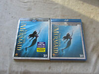 New Blu-Ray Blu-Ray 3D DVD Digital Copy The Little Mermaid Diamond Edition Seald