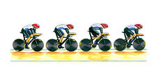 Team GB Men's Cycling Pursuit Team 2012 Greeting Card, DL size