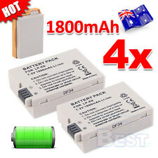 4X Premium For Canon LP-E8 Battery Camera EOS T2i/550D T3i/600D T4i 700D Kiss