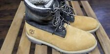Timberland Woolrich Men Boots Size 13  Leather Lace Up Work Wool Boot