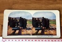 36 Osaka Baby 500lb Shell Japanese Army Antique 1905 INGERSOLL Colour Stereoview
