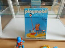 Playmobil System Fisherman in Boat in Box (Playmobil nr: 3574)