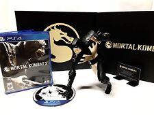 Mortal Kombat X Kollectors Collectors Limited Edition •PlayStation 4 PS4•