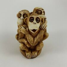 Harmony Kingdom Inside Joke Collectible Trinket Monkeys Figure 1994